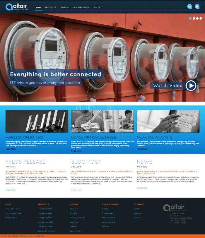 בניית אתר וורדפרס לחברת סמי קונדקטורס